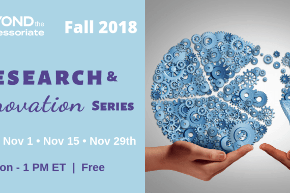 Fall 2018 Research & Innovation Series