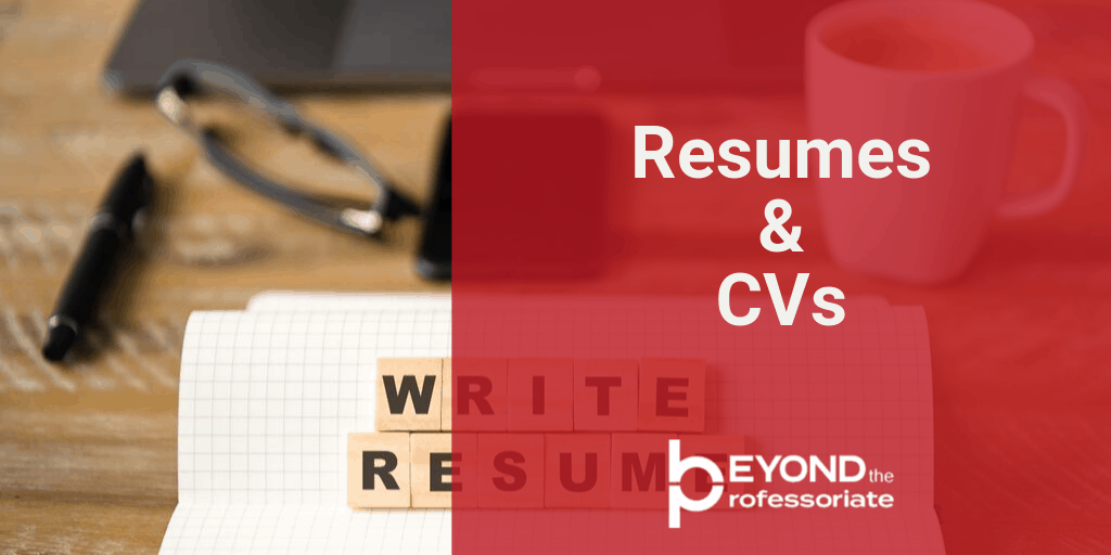 resumes and CVs