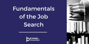 Fundamentals of the Job Search Course Image