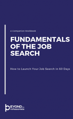 fundamentals of the job search